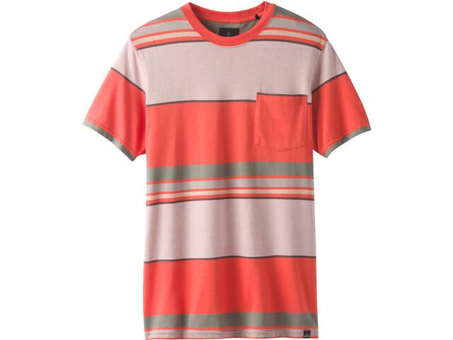 Prana Dominic Crew Shortsleeve T-Shirt Herre koi